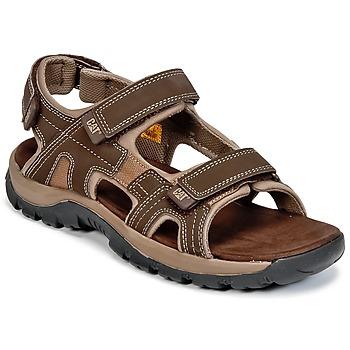 Sapatos Homem Sandálias Caterpillar GILES Castanho