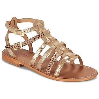 Sapatos Mulher Sandálias Les Tropéziennes par M Belarbi BAILLE Ouro