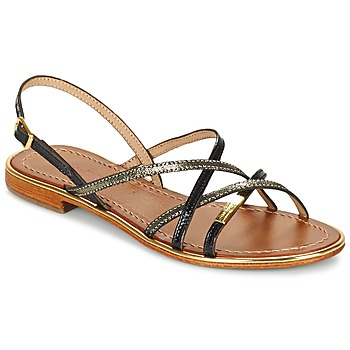 Sapatos Mulher Sandálias Les Tropéziennes par M Belarbi BELLE Preto