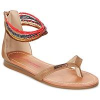 Sapatos Rapariga Sandálias Les Tropéziennes par M Belarbi GINKGO Castanho