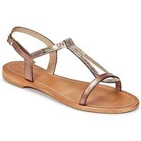Sapatos Mulher Sandálias Les Tropéziennes par M Belarbi HAMAT Bronze