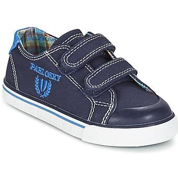 Sapatos Rapaz Sapatilhas Pablosky TEDOUME Azul