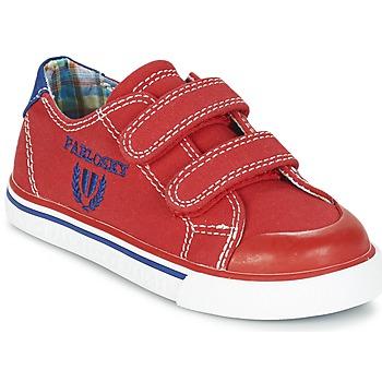 Sapatos Rapaz Sapatilhas Pablosky LIVABI Vermelho