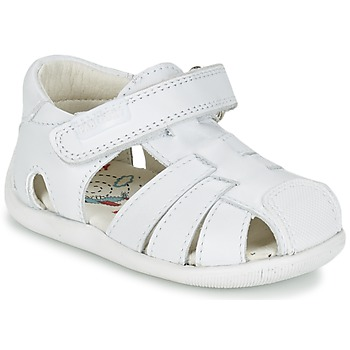 Sapatos Rapaz Sandálias Pablosky NETROLE Branco