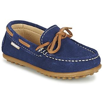 Sapatos Rapaz Sapato de vela Pablosky RACEZE Azul