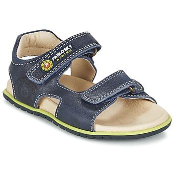 Sapatos Rapaz Sandálias Pablosky GARMINOUTE Azul