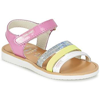 Sapatos Rapariga Sandálias Pablosky RETOKIA Multicolor