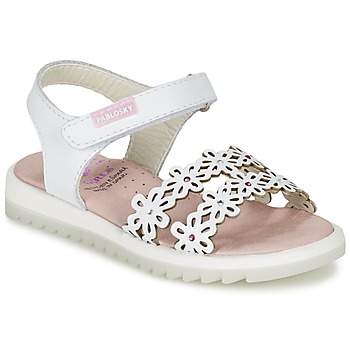 Sapatos Rapariga Sandálias Pablosky COULOIME Branco