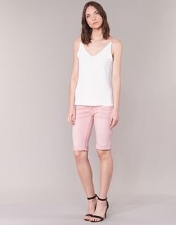 Textil Mulher Shorts / Bermudas Freeman T.Porter BELIXA NEW MAGIC COLOR Rosa