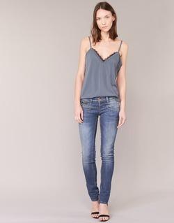 Textil Mulher Calças de ganga slim Freeman T.Porter ALEXA SLIM SDM Azul