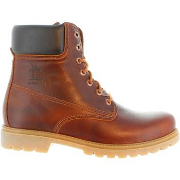 Sapatos Homem Botas Panama Jack PANAMA 03 C51 NAPA GRASS CUERO Marrón