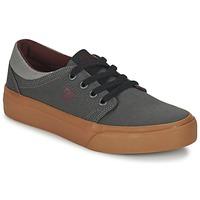 Sapatos Criança Sapatilhas DC Shoes TRASE TX B SHOE XSSR Cinza / Vermelho