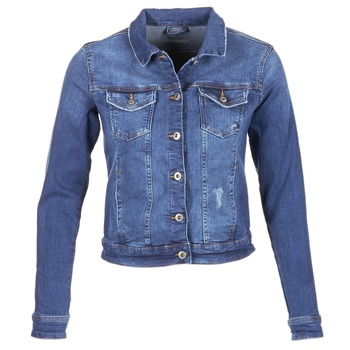 Textil Mulher casacos de ganga Esprit CROVETTA Azul