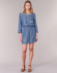Textil Mulher Vestidos curtos Esprit CHAVIOTA Azul