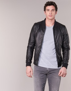 Textil Homem Casacos de couro/imitação couro Oakwood 62354 Preto