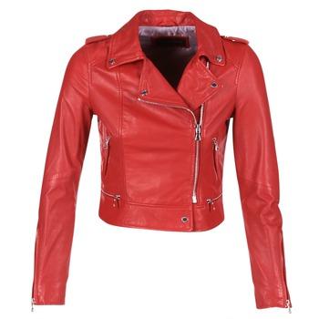 Textil Mulher Casacos de couro/imitação couro Oakwood 62326 Vermelho