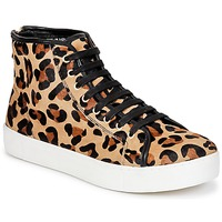Sapatos Mulher Sapatilhas de cano-alto North Star BEID Leopardo