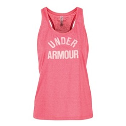 Textil Mulher Tops sem mangas Under Armour THREADBORNET TWIST GRAPHIC Rosa