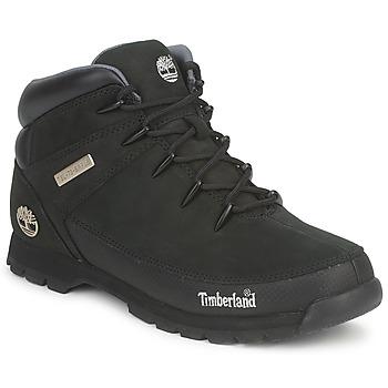 Sapatos Homem Botas baixas Timberland EURO SPRINT HIKER Preto