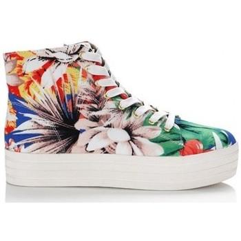 Sapatos Mulher Sapatilhas de cano-alto Steve Madden Sapatilhas Bountie Floral Multicolor
