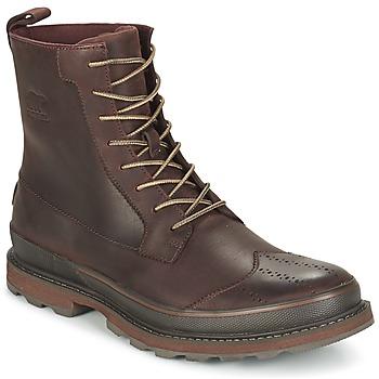 Sapatos Homem Botas baixas Sorel MADSON WINGTIP BOOT Castanho