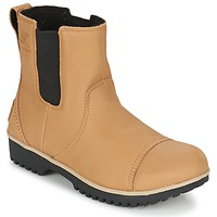 Sapatos Mulher Botas baixas Sorel MEADOW CHELSEA Preto