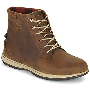 Sapatos Homem Botas baixas Columbia DAVENPORT SIX WATERPROOF LEATHER