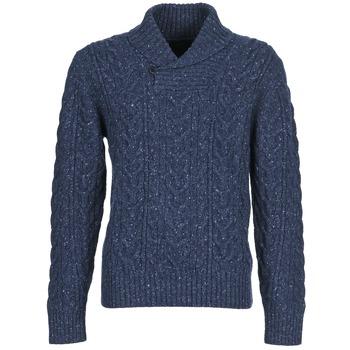 Textil Homem camisolas Otto Kern AFANASY Marinho