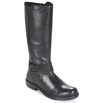 Sapatos Mulher Botas baixas Kickers MOTCAST Preto