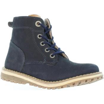 Sapatos Criança Botas Kickers 511860-30 LUCIO Azul