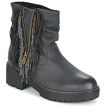 Sapatos Mulher Botas baixas Coolway BARINA Preto