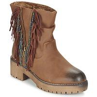 Sapatos Mulher Botas baixas Coolway BARINA Camel