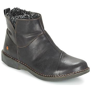 Sapatos Mulher Botas baixas Art BERGEN Preto