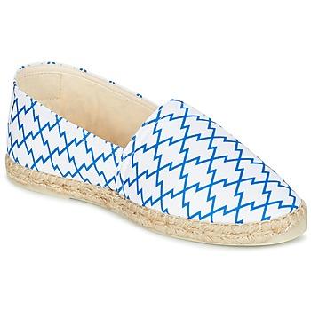 Sapatos Mulher Alpargatas Maiett KIMONO Branco / Azul