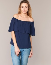 Textil Mulher Tops / Blusas Betty London GIVATE Marinho