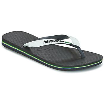 Sapatos Chinelos Havaianas BRASIL MIX Branco / Preto