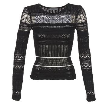 Textil Mulher camisolas Morgan MARAI Preto