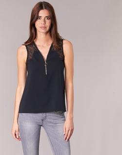 Textil Mulher Tops / Blusas Morgan OBLOW Preto