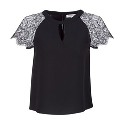 Textil Mulher Tops / Blusas Morgan OMA Preto