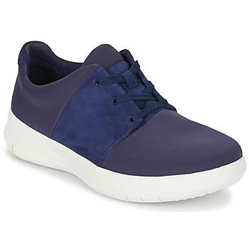 Sapatos Mulher Sapatilhas FitFlop SPORTYPOP X SNEAKER Marinho
