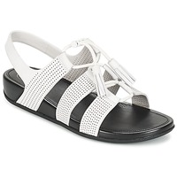 Sapatos Mulher Sandálias FitFlop GLADDIE LACEUP SANDAL Branco