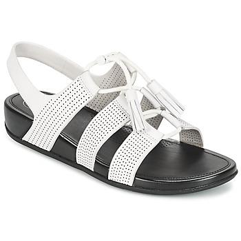 Sapatos Mulher Sandálias FitFlop GLADDIE LACEUP SANDAL Branco