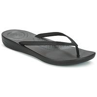 Sapatos Mulher Chinelos FitFlop IQUSHION ERGONOMIC FLIP FLOP Preto
