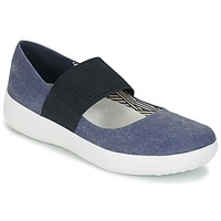 Sapatos Mulher Sabrinas FitFlop FSPORTY MARY JANE CANVAS Navy