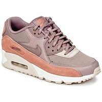 Sapatos Mulher Sapatilhas Nike AIR MAX 90 W Toupeira / Rosa