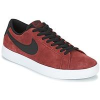 Sapatos Homem Sapatilhas Nike BLAZER VAPOR LOW SB Bordô / Branco