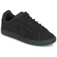 Sapatos Criança Sapatilhas Nike COURT ROYALE GRADE SCHOOL Preto