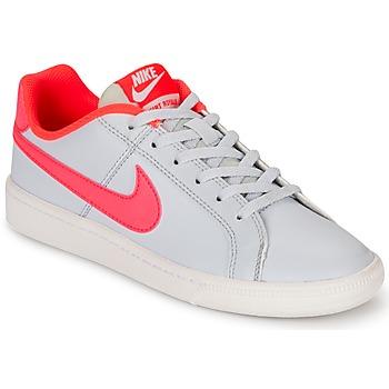 Sapatos Rapariga Sapatilhas Nike COURT ROYALE GRADE SCHOOL Cinza / Rosa