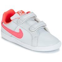 Sapatos Rapariga Sapatilhas Nike COURT ROYALE TODDLER Cinza / Rosa