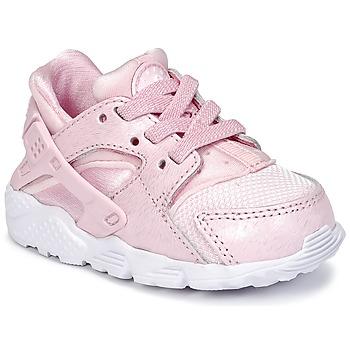 Sapatos Rapariga Sapatilhas Nike HUARACHE RUN SE TODDLER Rosa
